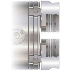 6014 - Skål kæbe  ,75 mm