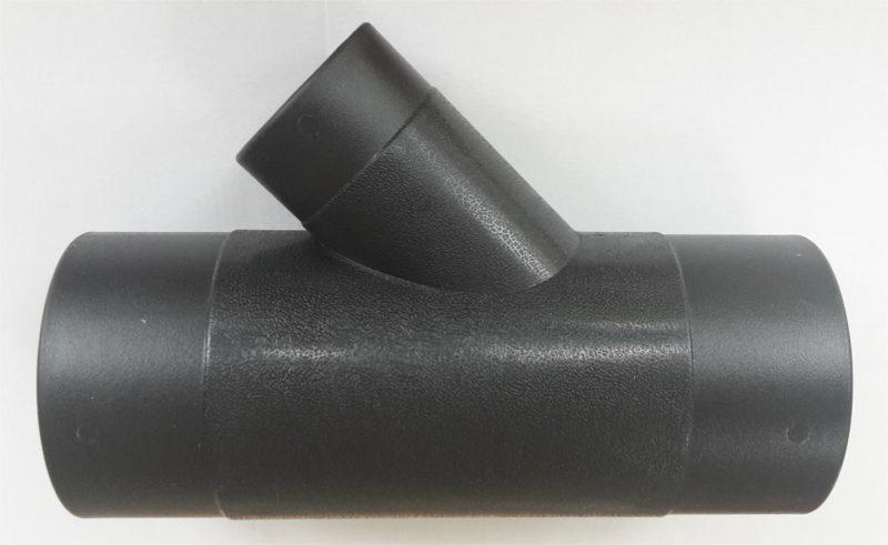 Y-stykke ,Ø 100mm med 60mm studs