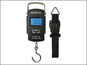 FAISCALE50KG Bærbart elektronisk ,vægt 0-50 kg